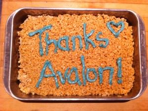 Thanks, Avalon!